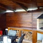 Výroba kuchyňky , pracovní desky a krbu na grilování - RD Česká u Brna