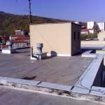 Zateplení střechy - BD Adamov
