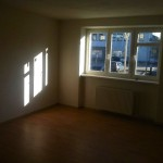 Rekonstrukce bytu, nové omítky, plovoucí podlahy - Blansko K.J.Mašky
