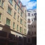 Renovace památkové fasády - BD Brno ul. Průchodní