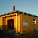 Zastřešení dřevostavby - bungalov Těchov