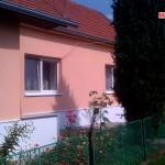 Zateplení fasády, omítka Baumit - RD Kulířov