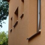 Zateplení fasády, klempířské práce TiZn - RD Rájec - Jestřebí