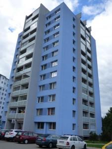 Zateplení fasády a střešního pláště -  revitalizace BD Praha