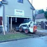 Rekonstrukce garáže - Blansko ul. Husova