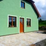 Betonová dlažba Diton Alpava retro barva - RD Vysočany
