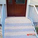 Oprava schodišť z kamenného koberce TOPSTONE - BD Znojmo