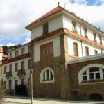 Oprava fasády, klempířských prvků - nemocnice Tišnov