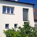 Zateplení fasády silikonová Baumit omítka, zateplení stropů, půdy včetně pochozí podlahy, klempířské a tesařské práce, Velux okna - RD Vranovice u Pohořelic